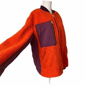 Free People Jackets & Coats - Free People Rivington Faux Shearling Jacket